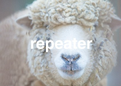 リピーター:羊
